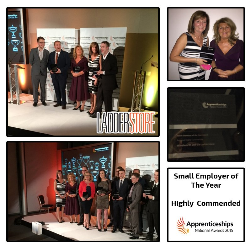 Ladderstore at national apprenticeship awards