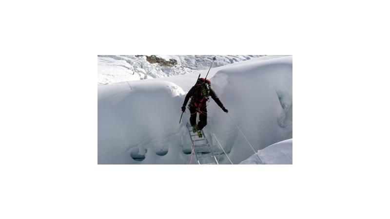 Lightweight Aluminium Ladders for Mount Everest