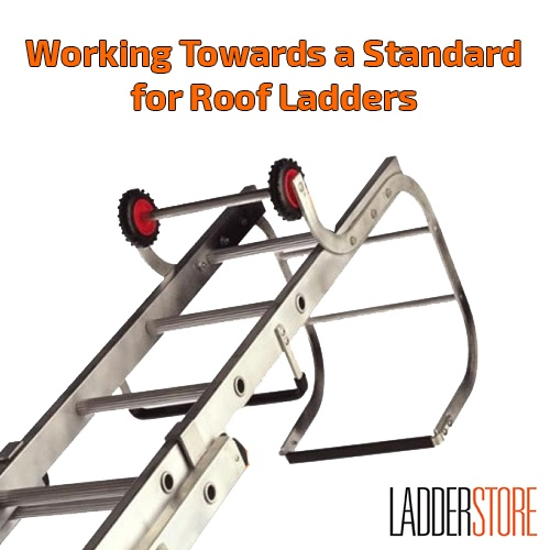 roof ladder graphic