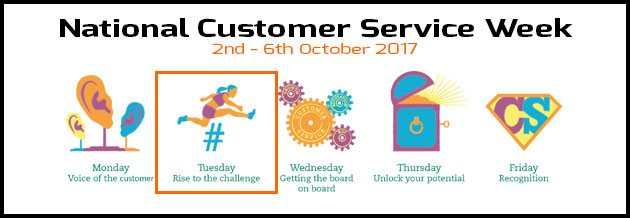 Rise To The Challange - Customer Service Blog Post
