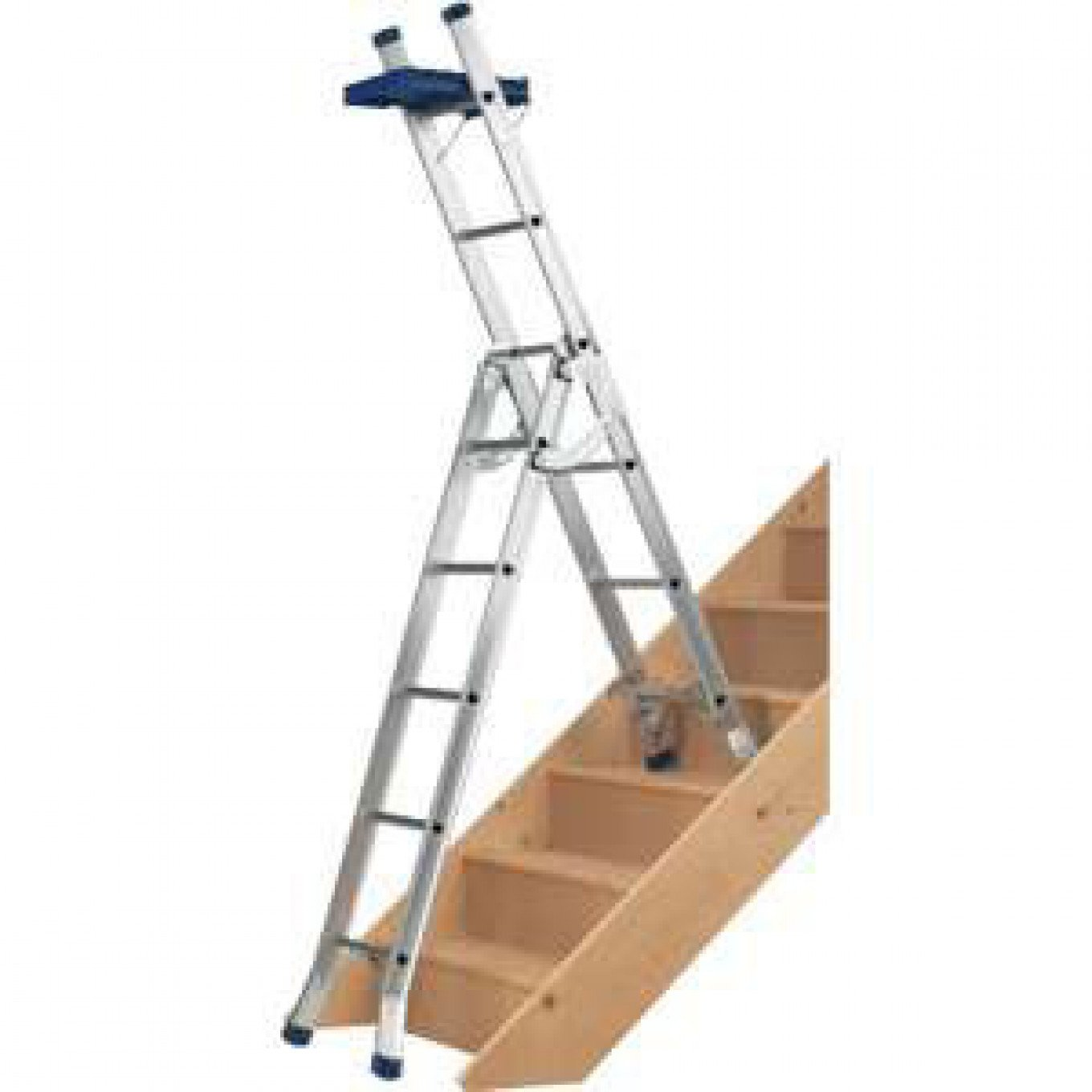 Lovely Werner Blue Seal 3 Way Combi Ladders   Combination Ladders For Use On  Stairs   Combination Ladders   Ladders Ladderstore.com
