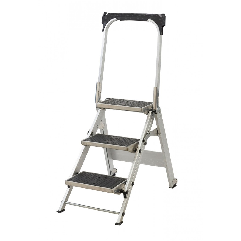 Easy-Slope-Leader-Steps-3-Tread  sc 1 st  Ladderstore.com & Easy Slope Folding Leader Steps - 3 Step - Step Stools u0026 Folding ... islam-shia.org