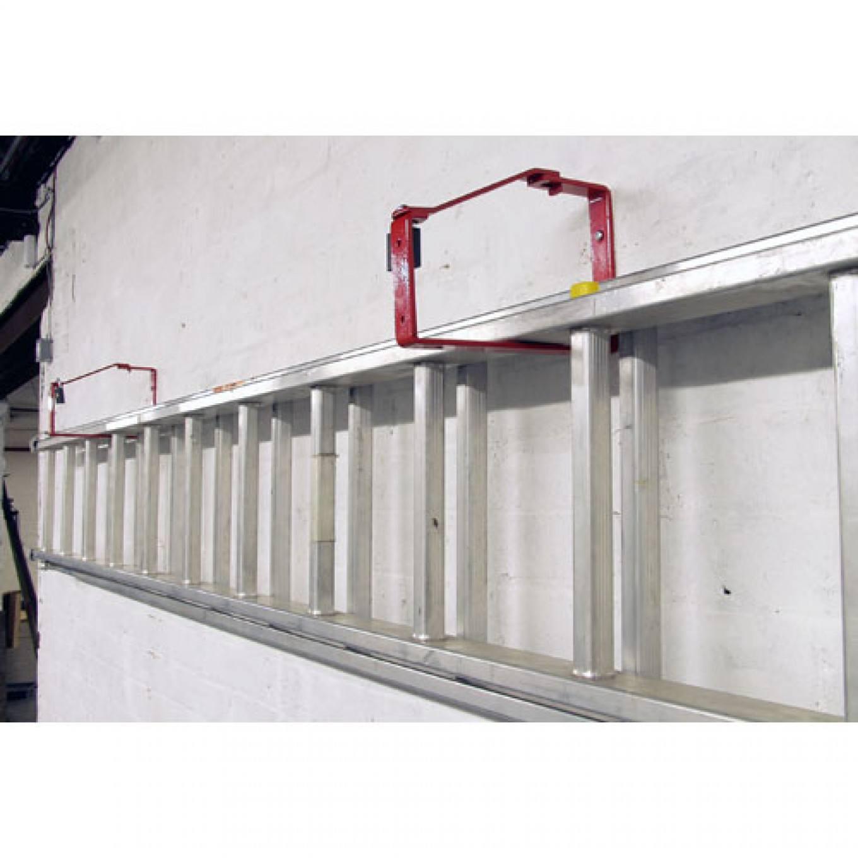 Universal Lockable Ladder Storage Brackets (PAIR)   Extension Ladder  Accessories   Accessories By Ladder Type   Accessories Ladderstore.com