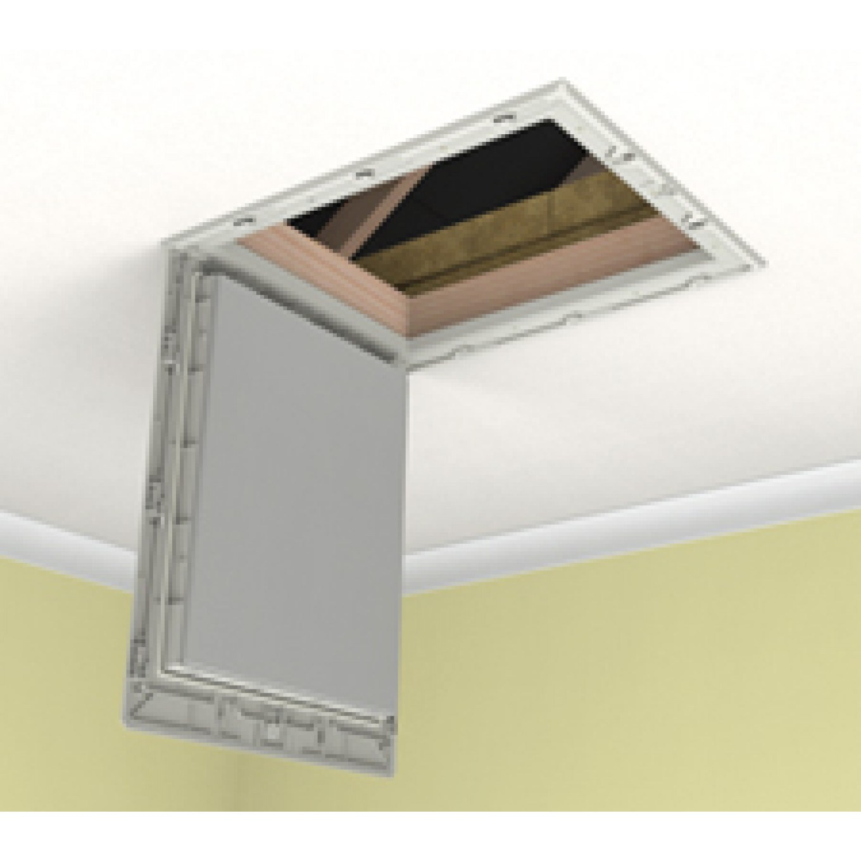 GL250-015-PU Drop Down Loft Door with 150 mm Insulation - High Impact Polystyrene Loft Hatches - Loft Hatches - Loft Ladders Ladderstore.com  sc 1 st  Ladderstore.com & GL250-015-PU Drop Down Loft Door with 150 mm Insulation - High ...
