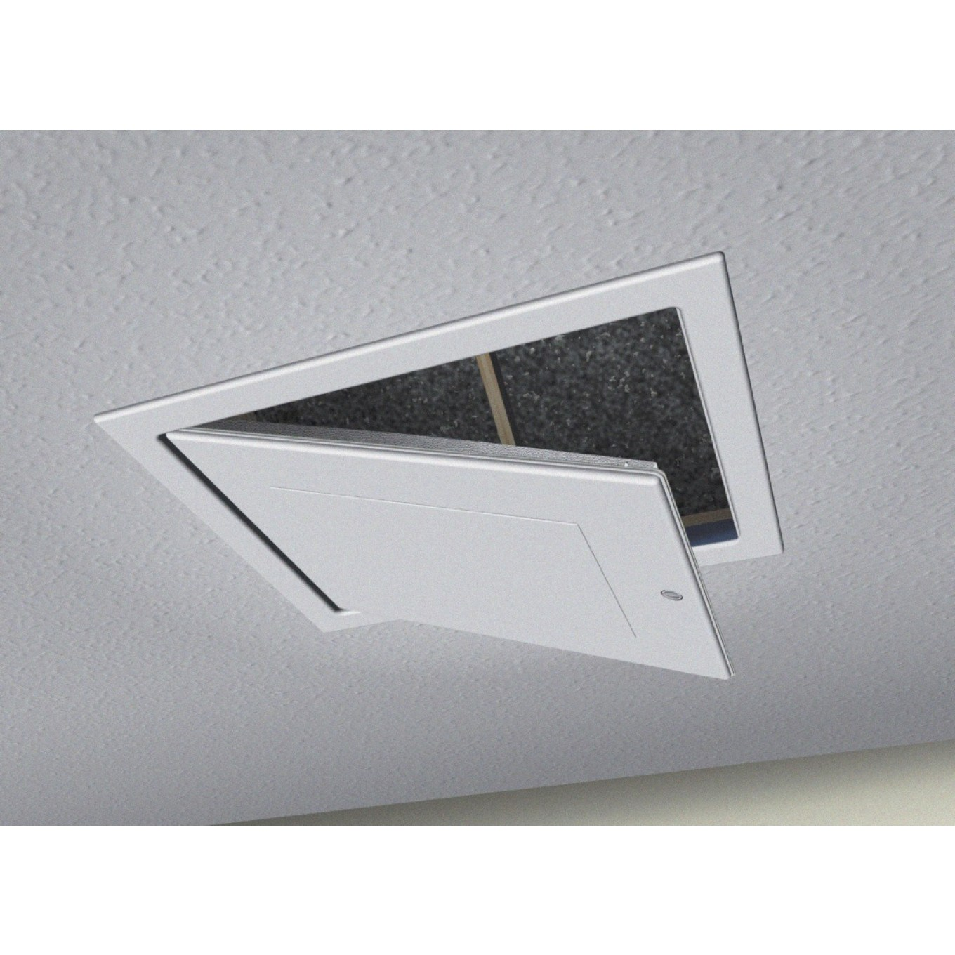 Drop Down Loft Access Hatch with Twist Action Catch - High Impact ...