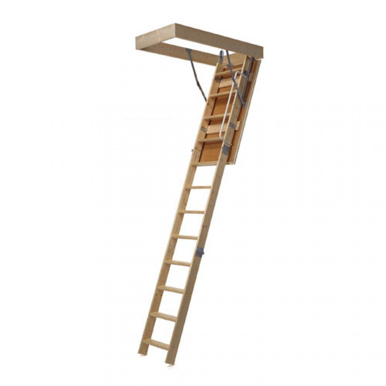 Midmade Folding Timber Loft Ladder 670 X 1130mm