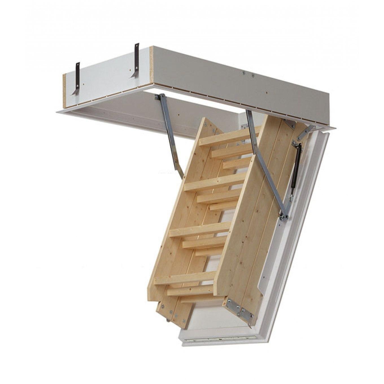 Midmade Lux A1120 3 Section Timber Loft Ladder