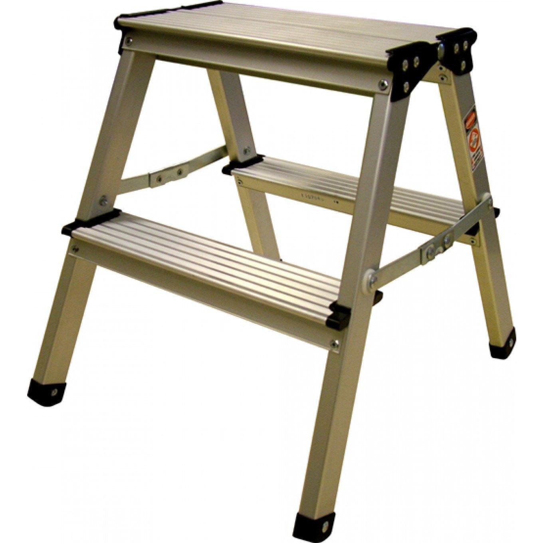 Lyte Aluminium Folding Steps - 2 x 2  sc 1 st  Ladderstore.com & Lyte Aluminium Folding Steps - 2 x 2 - Folding Step Stools - Step ... islam-shia.org