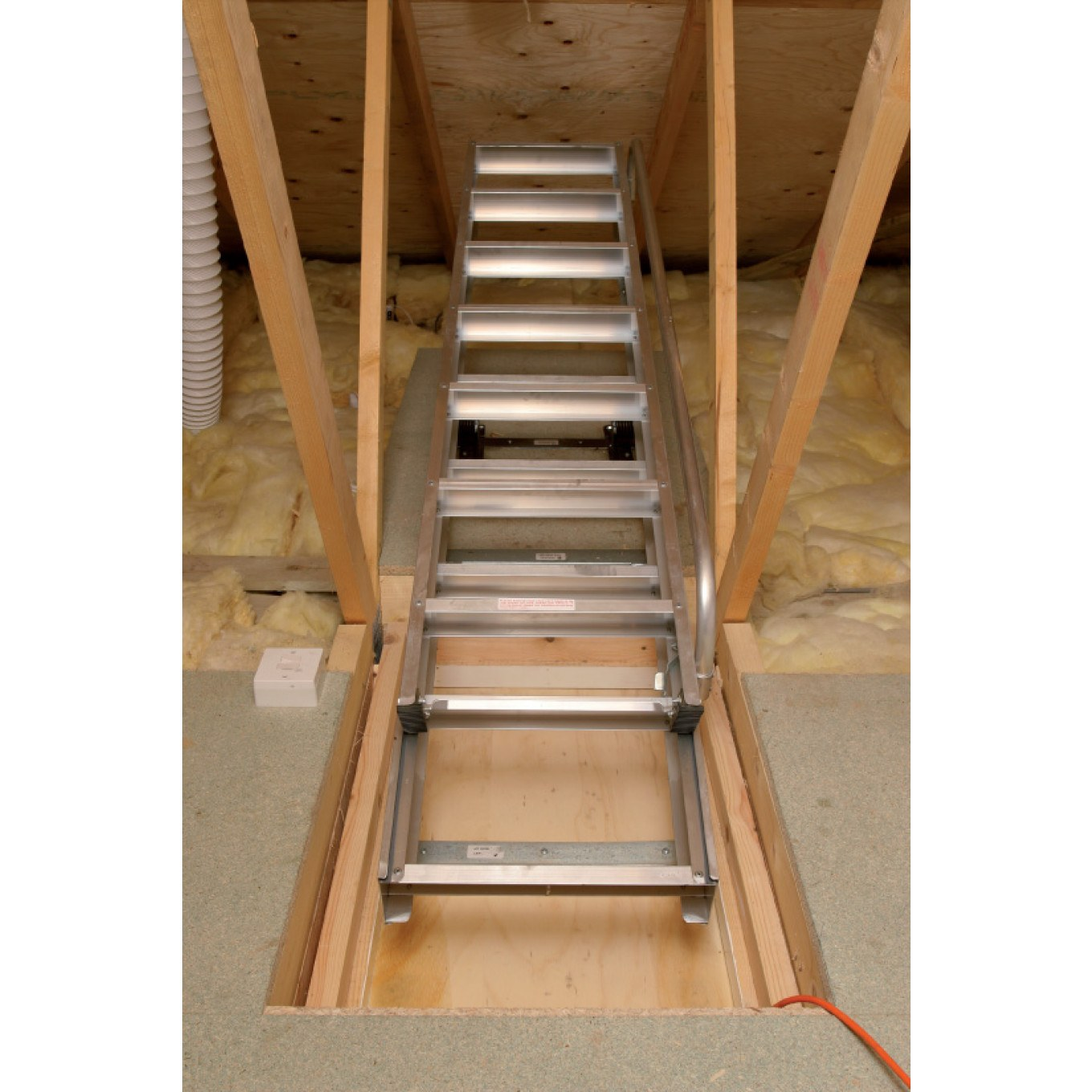 Superior Aluminium Loft Ladder 3 38m