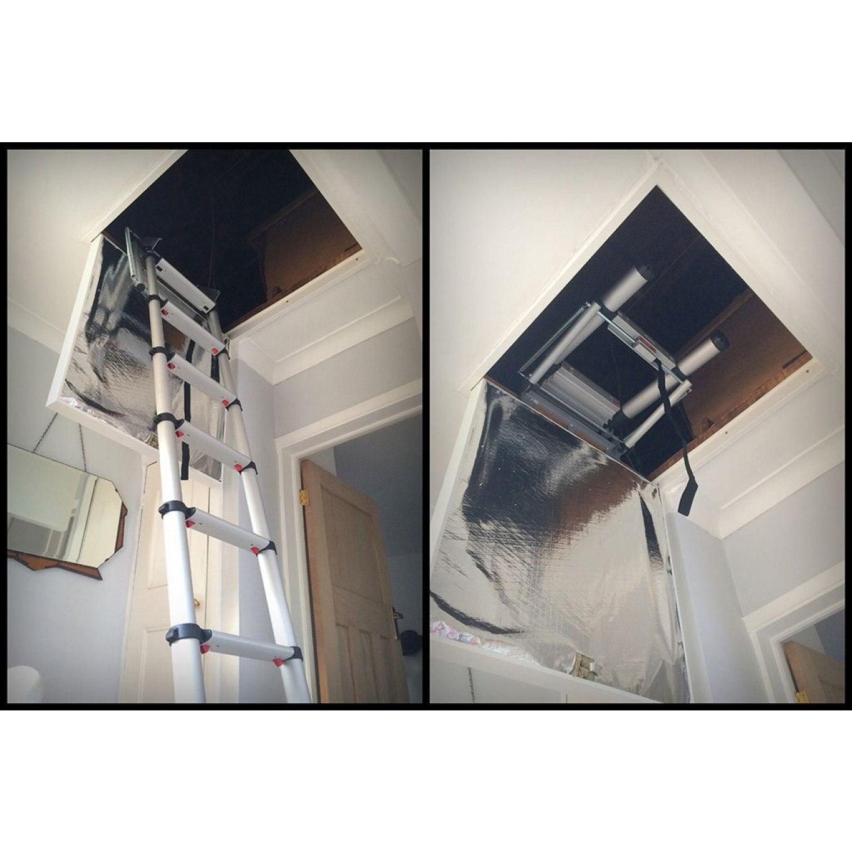 jeffu0027s telesteps loft ladder