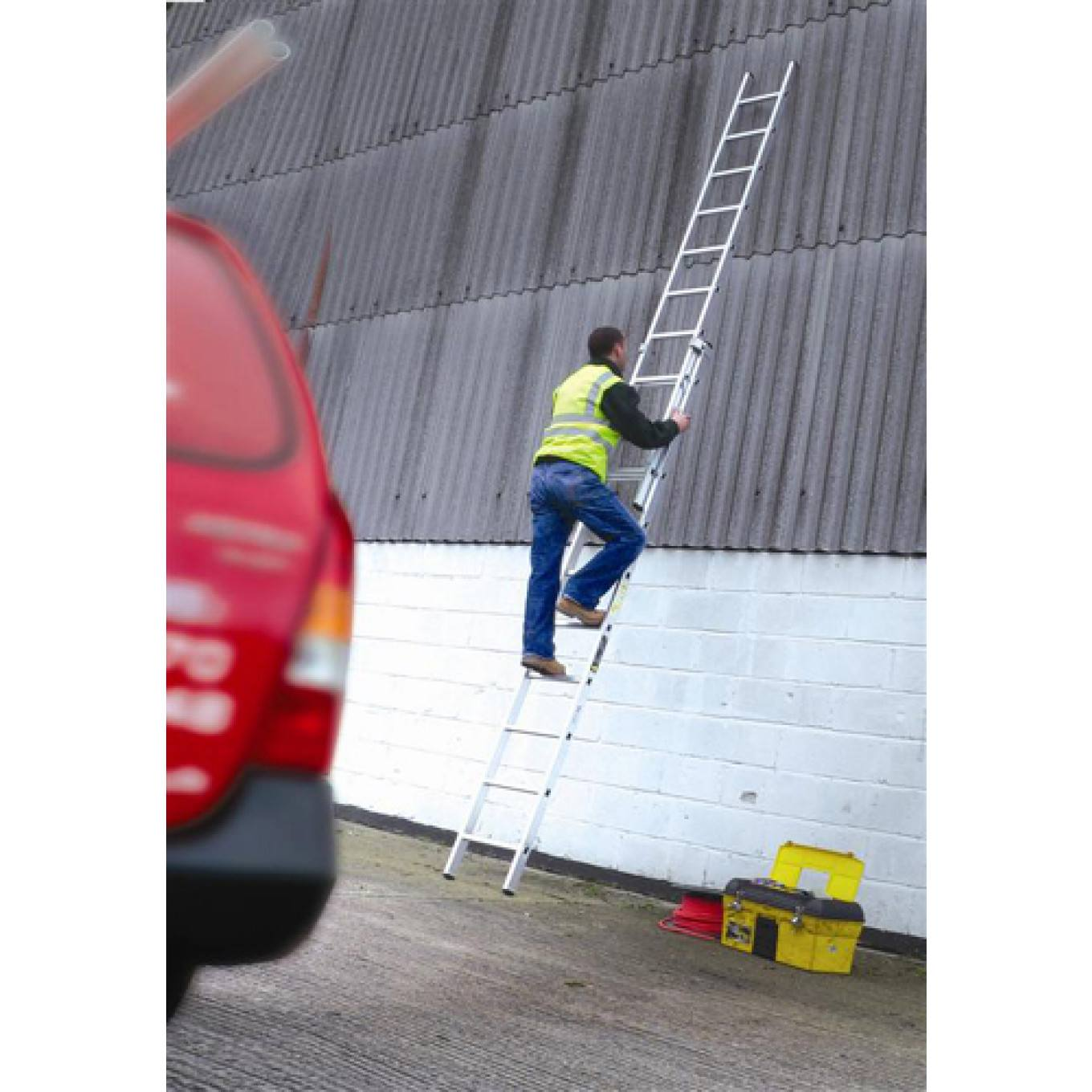 Youngman Trade 200 Extension Ladders En131 Professional Trade