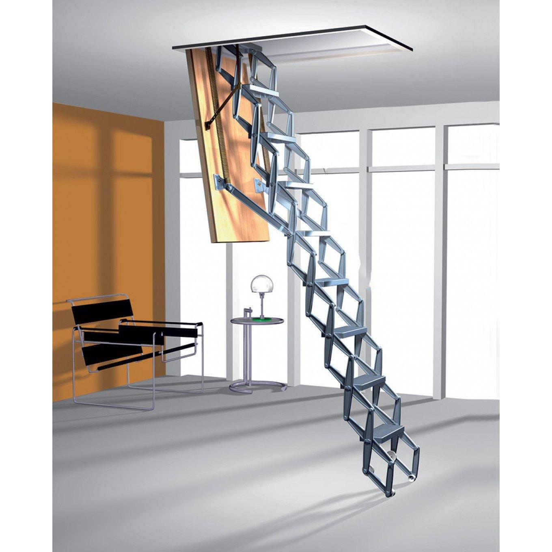 Zig Zag Heavy Duty Concertina Ladders With Trapdoor