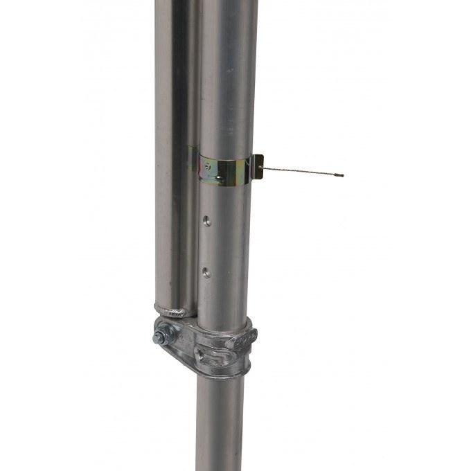 SP10 Telescopic Stabiliser c/w Saddle Blade Clamp