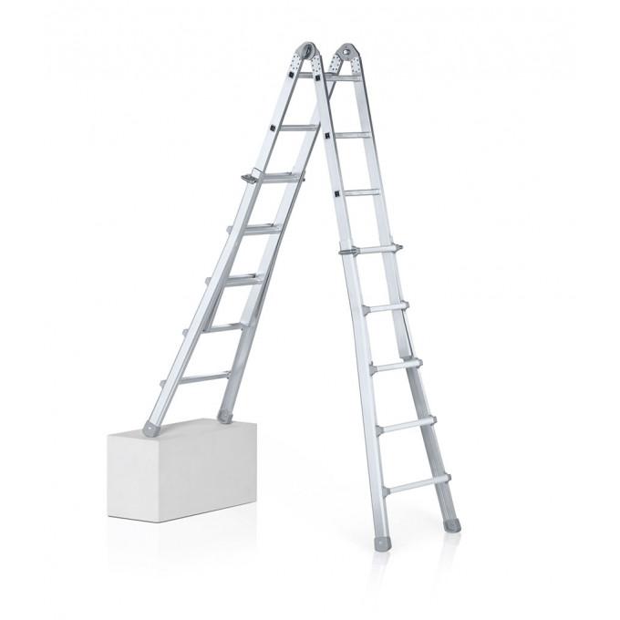 Zarges Z600 4 Part Telescopic Ladder - 4 x 6 Rungs