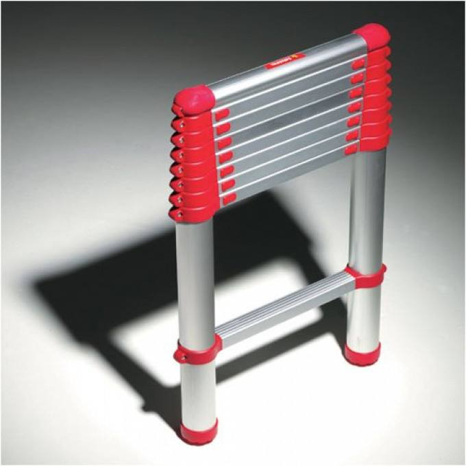 Telesteps Red Line Telescopic Ladder - 2.6 m