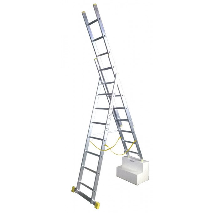 Werner-X4-Combination-Ladder-On-Stairs