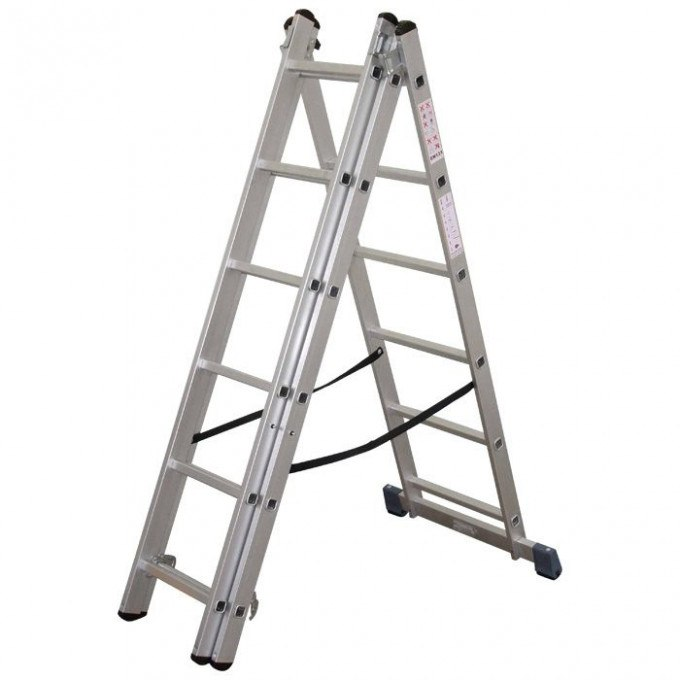 Lyte Trade Combination Ladder - 3 x 6 rungs