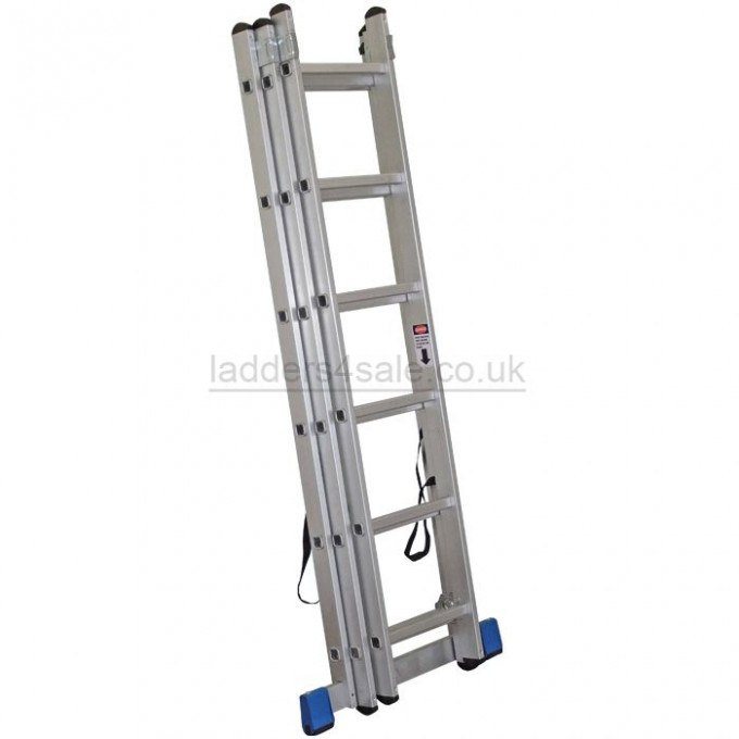 Lyte Trade Combination Ladder - 3 x 12 rungs