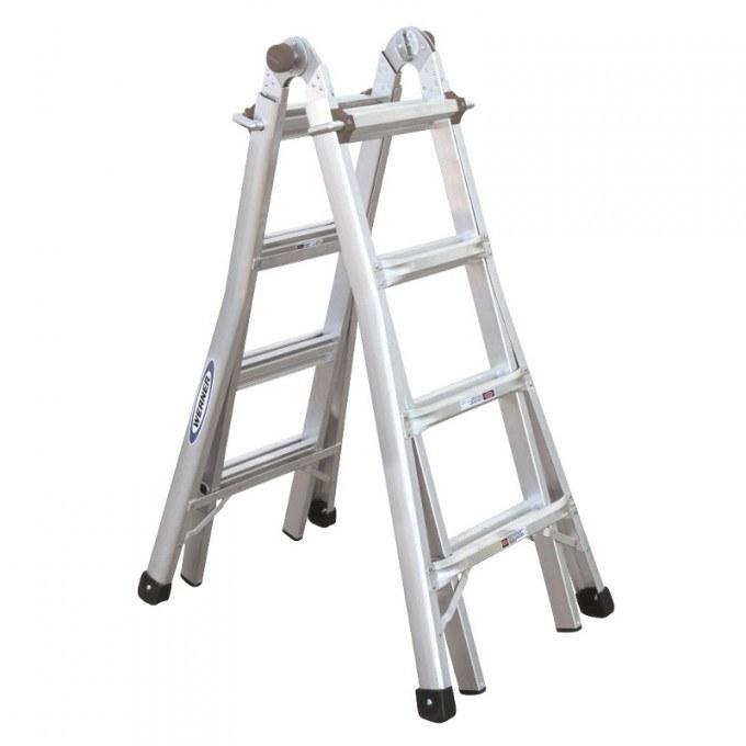 Werner Telecsopic Combination Ladder Stepladder