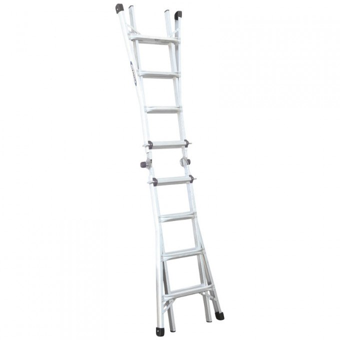 Werner Telecsopic Combination Ladder Extended
