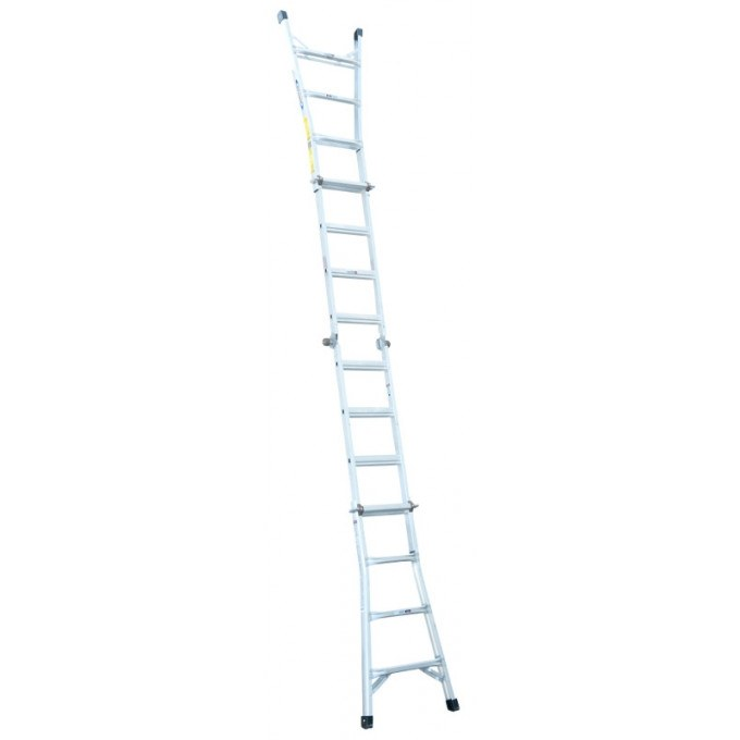 Werner Telescopic Combination Ladder Fully Extended