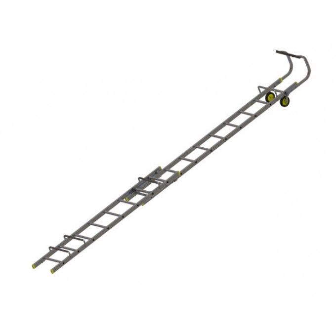 Werner 2 Section Roof Ladders - 4.89 m