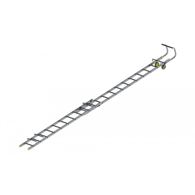 Werner 2 Section Roof Ladders - 6.01 m