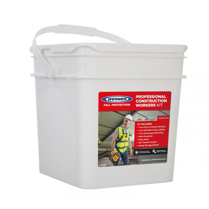 Construction Workers Fall Protection Kit Storage Box