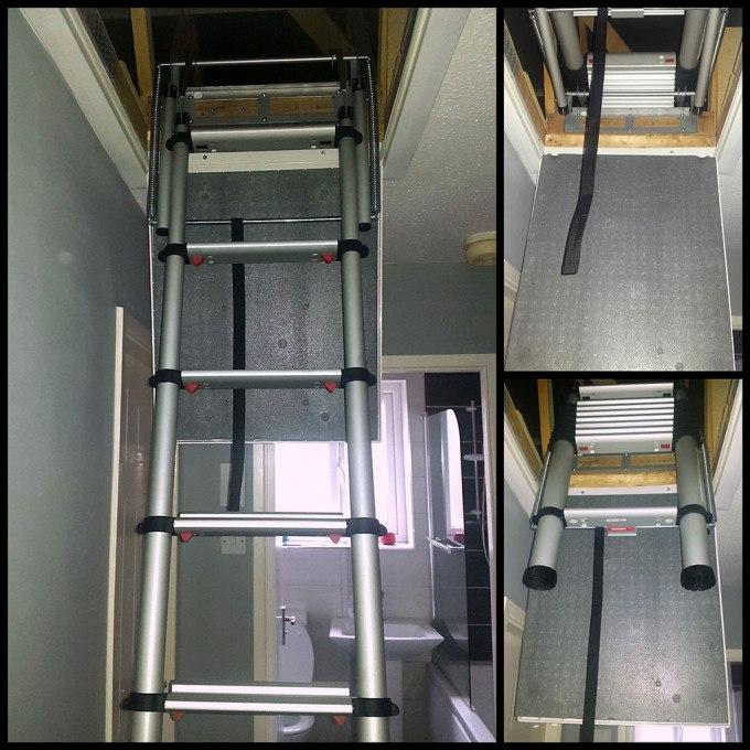 Andy's Telesteps 60324 Loft Ladder