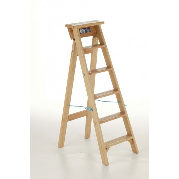 Bratts Timber Trade Swingback Step Ladders