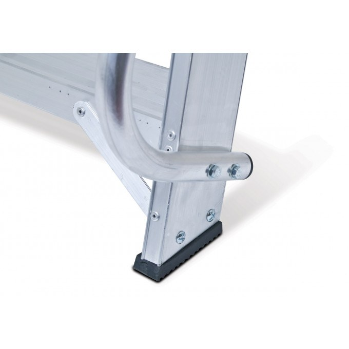 Lyte EN131 Professional Wide Platform Stepladders with Handrails