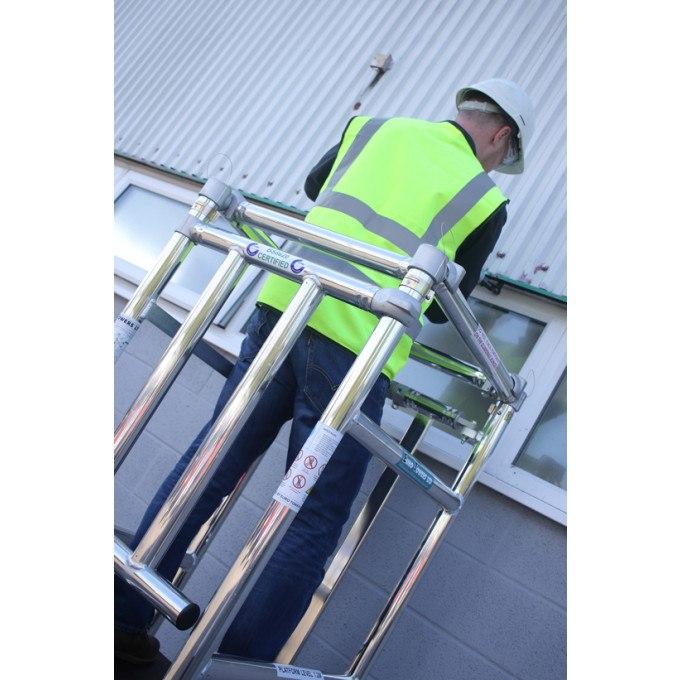 Stepfold BS8620 Certified Aluminium Podium Locking Gates