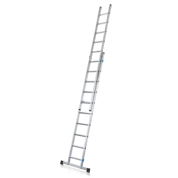 Zarges-2-Section-Class-1 Industrial-Extension-Ladder-EN131-2008