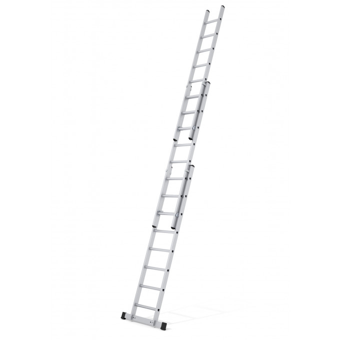 Zarges-3-Section-Class-1 Industrial-Extension-Ladder-EN131-2008