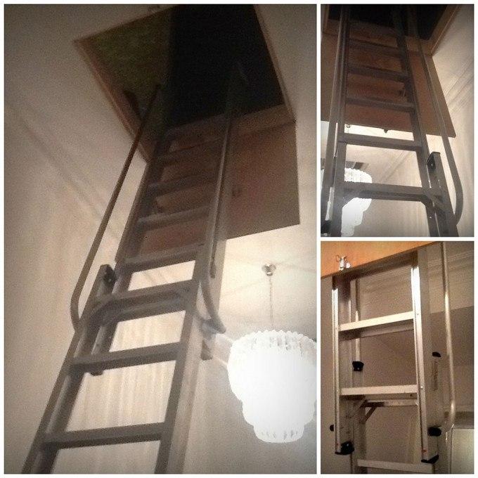 Dean's Youngman Deluxe Loft Ladder