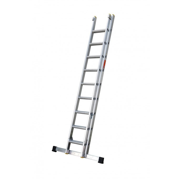 EN131 Professional Double Section Extension Ladder