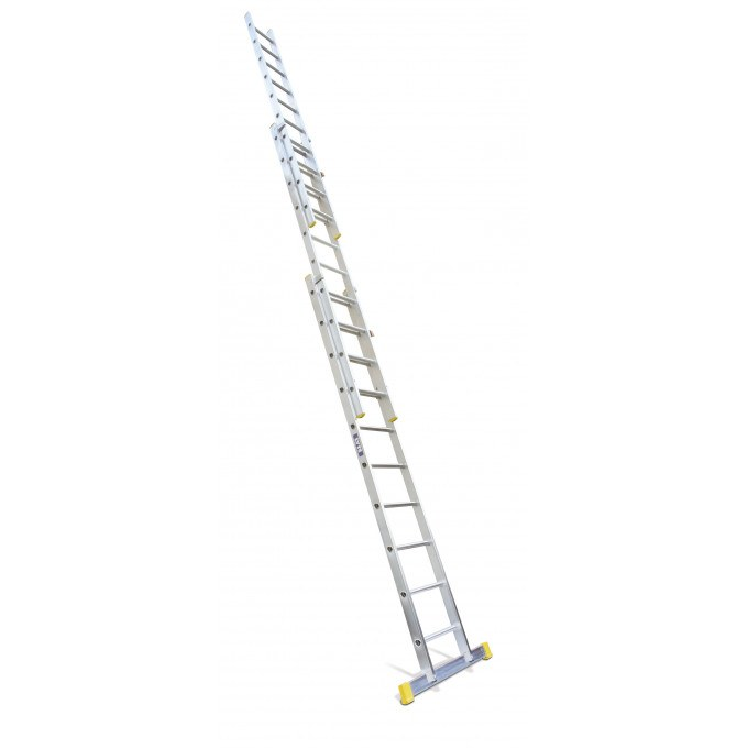 Lyte 3 Section EN131 Professional Extension Ladder - 3 x 8 rungs