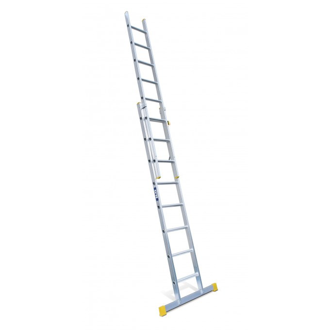 Lyte EN131 Professional 2 Section Extension Ladder - 2 x 17 rungs