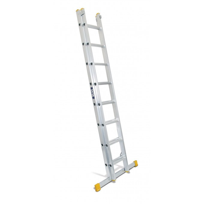 Lyte EN131 Professional 2 Section Extension Ladder - 2 x 12 rungs