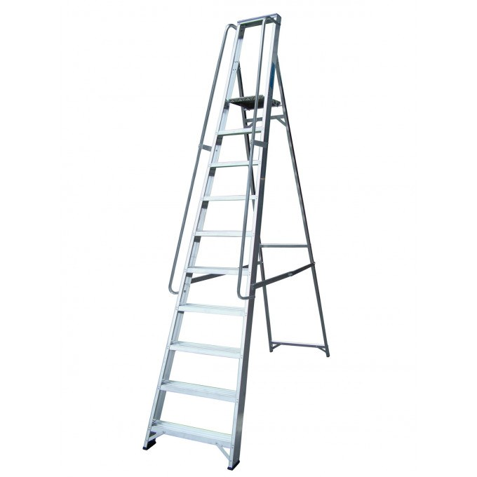Lyte Heavy Duty EN131 Professional Platform Stepladder