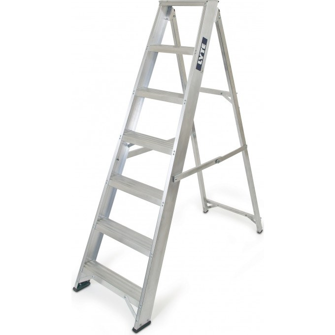 Lyte Heavy Duty EN131 Professional Swingback Stepladder - 6 Tread