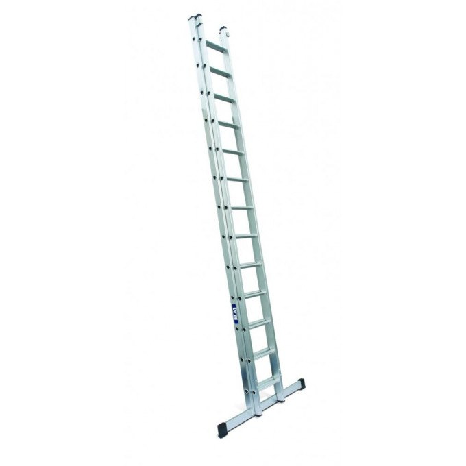 Lyte EN131 Professional Heavy Duty 2 Section Extension Ladders Closed