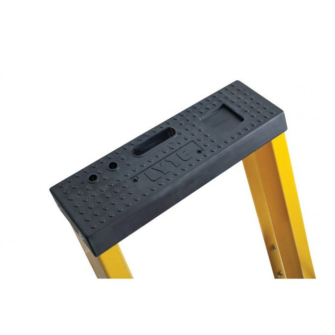 Lyte Heavy Duty Glass Fibre Platform Stepladders