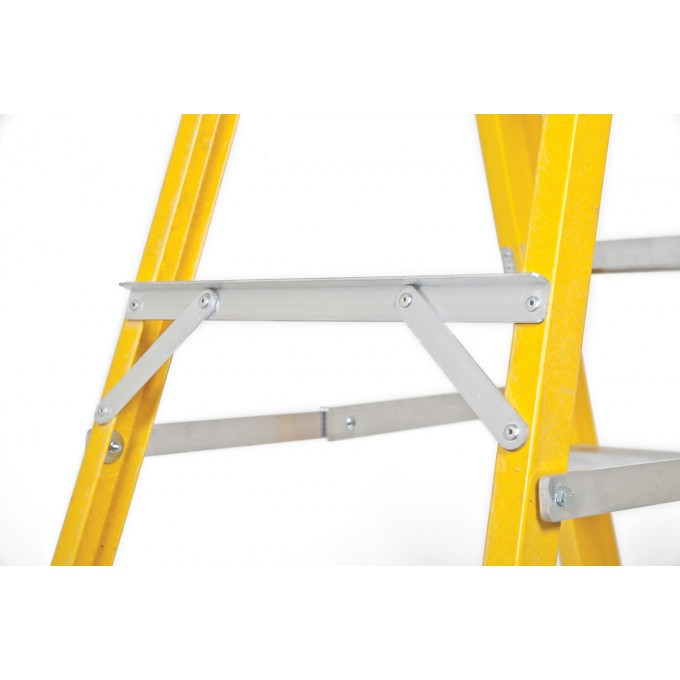 Lyte Heavy Duty Glass Fibre Platform Stepladders