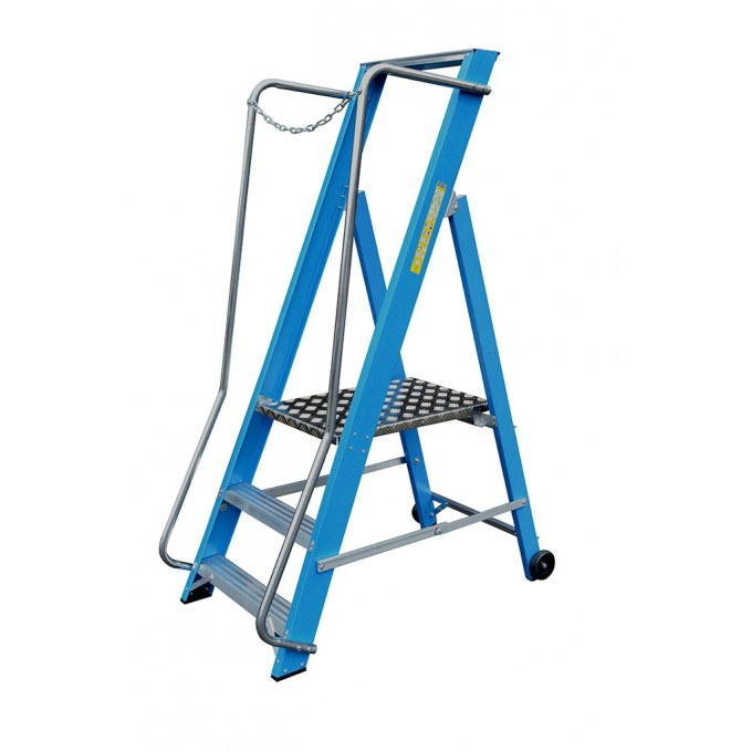 Lyte Glass Fibre Wide Stepladder - 3 Tread