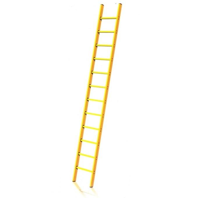 Fibreglass GRP Single Section Pole Ladder