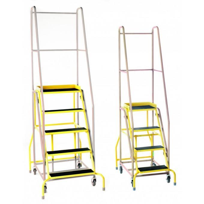 Duplex Weight Reactive Mobile Warehouse Steps