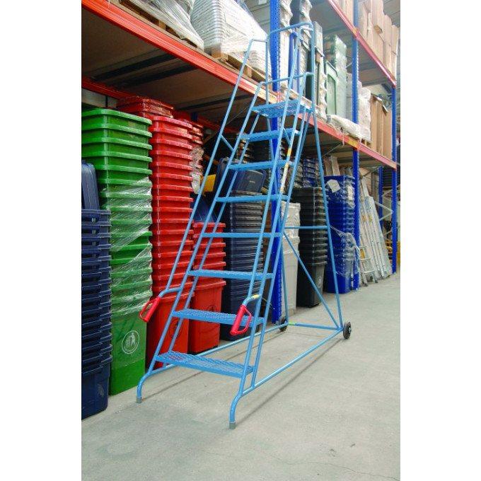 Wheel Mobile Warehouse Steps