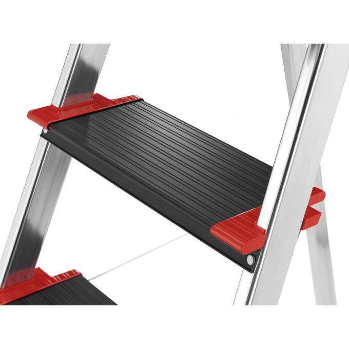 Hailo Championsline XXR Safety Step Ladder - 4 Tread
