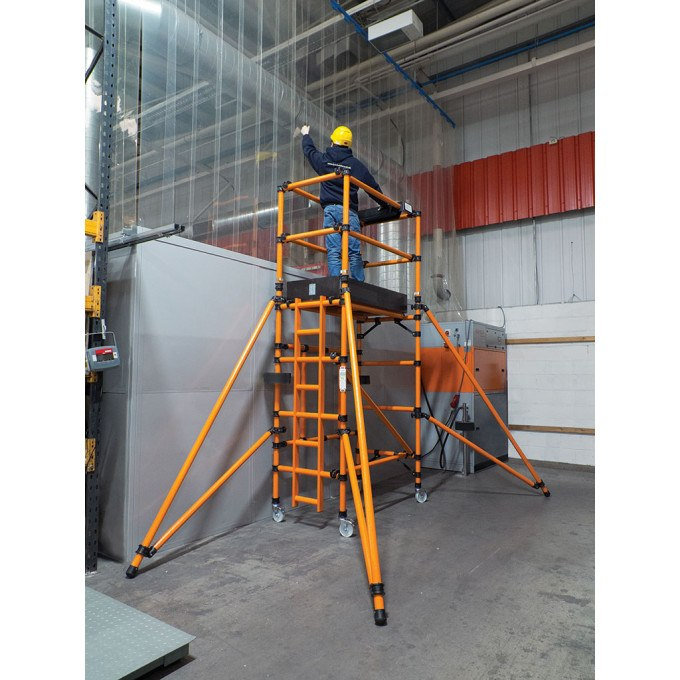 HiLyte GRP Folding Tower - 2.1 m Platform Height
